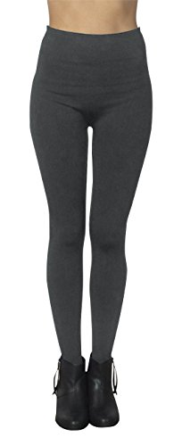 6-Pack-Womens-Free-to-Live-Seamless-Fleece-Lined-Leggings-Assorted-Colors
