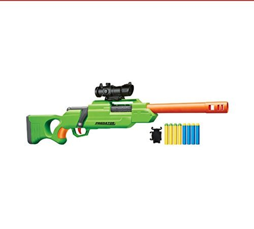 Buzz Bee Air Warriors Bolt Action Sniper Predator Foam Dart Blaster