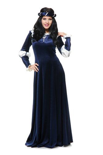 Medieval Damsel Costume (Womens Medieval Country Maiden Costume size Large 11-13)