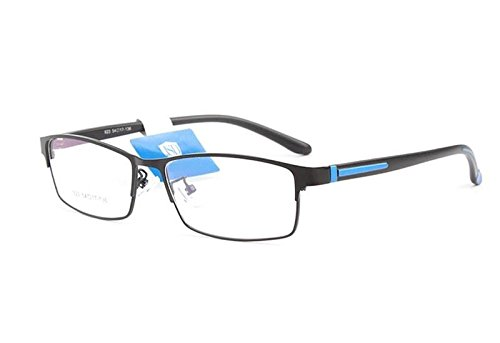 Color Prescription Costumes Contacts (Full Rim myopia Eyeglass Frame Men Spectacles Eyewear Glasses Rx)