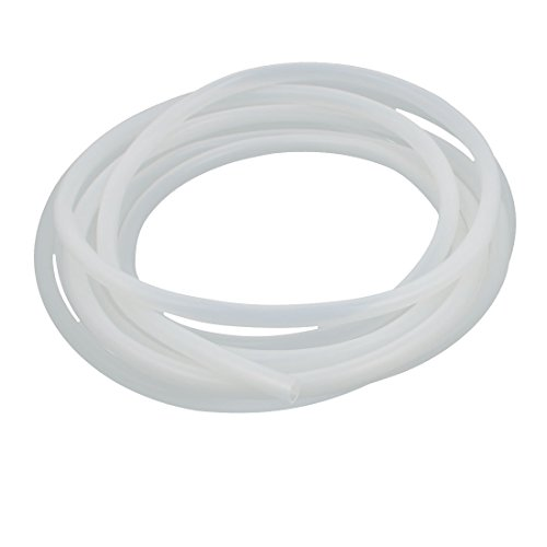 Uxcell 8Mm X 10Mm Silicone Transparent Tube Water Air Pump Hose Pipe 5 Meter 16 4Ft Length