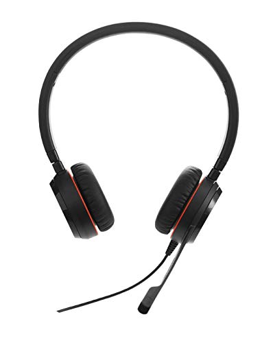 (Jabra Evolve 30 II UC Stereo Wired Headset/Music Headphones )