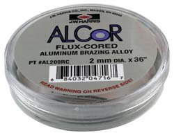 Alcor Flux-Cored Aluminum Alloy- 2mm x 36'' by Harris (Image #1)
