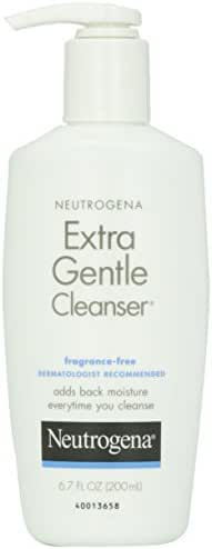 Facial Cleanser: Neutrogena Extra Gentle Cleanser