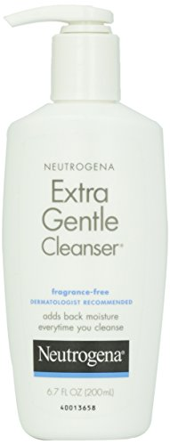 Neutrogena, Cleansing Extra Gentle Cleanser, Fragrance Free, 6.7 fl oz