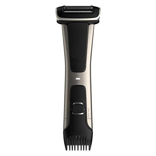 Philips Norelco Bodygroom Series 7000, BG7030/49, Showerproof Dual-sided Body Trimmer and Shaver for Men