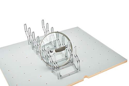 (Rev-A-Shelf - 5DLD-1-CR - Drop-in Lid Organizer for Drawer Peg Board System)
