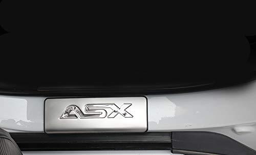 Edelstahl T/ür-schwellen-verschleiss-platte F/ür ASX RVR 2010-2016 Auto Zubeh/ör