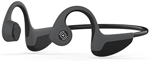 Docooler S.Wear Z8 Auriculares de conducción ósea Auricular inalámbrico BT 5.0 Deportes al Aire Libre Auriculares estéreo AK1050D Manos Libres con micrófono