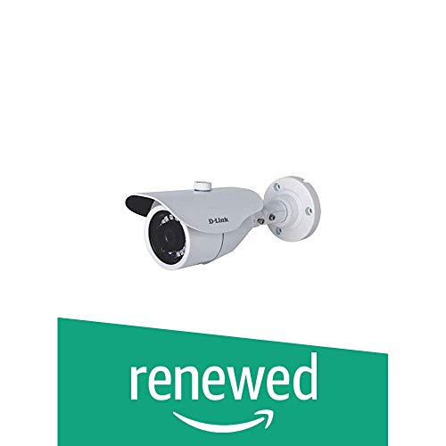 (Renewed) D-Link 1MP HD Day & Night Fixed Bullet Camera with 30M of IR Range (DCS-F1711)