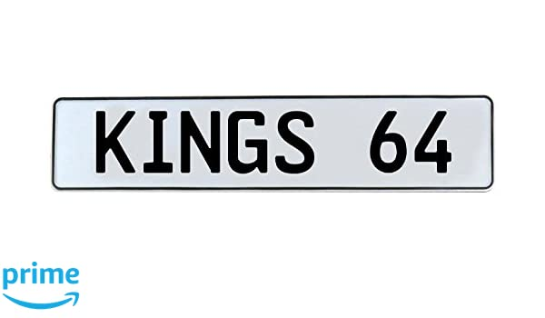Vintage Parts 339752 64 NBA Sacramento Kings White Stamped Street Sign Mancave Wall Art