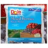 Dole Individual Quick Frozen Mixed Berry Fruit, 5