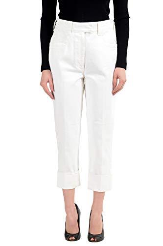 (Prada White Women's Jeans US 28 IT 42)