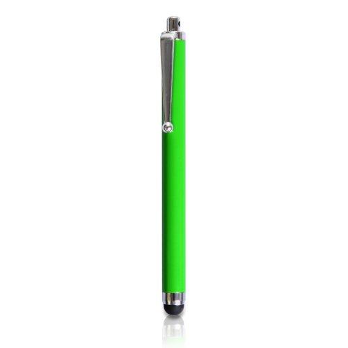 Yousave Accessories Tough Mesh Combo Silikon Cover Schutzhülle mit Eingabestift für iPhone 6–Grün/Schwarz