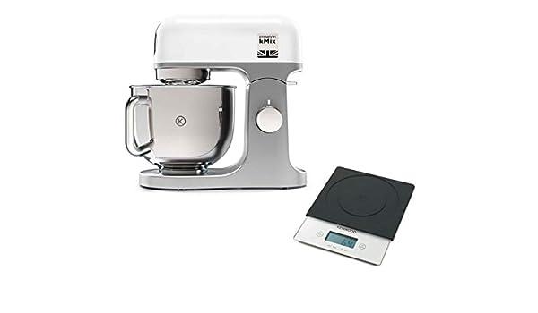 Kenwood Robot Pâtissier kMix Blanc 1000W 5L KMX850RD + Balance AT850B: Amazon.es: Electrónica