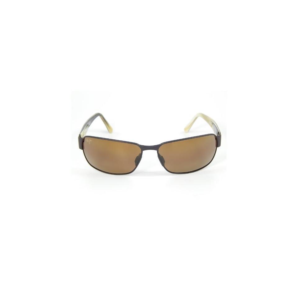 New Maui Jim Black Coral H249 19M Matte Bronze/HCL Bronze Polarized Sunglasses