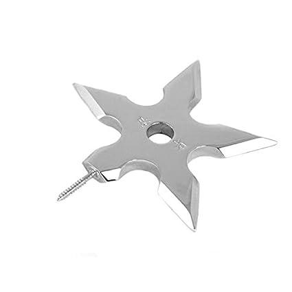 Ninja Forma de Estrella de Proyección de ropa gancho ...