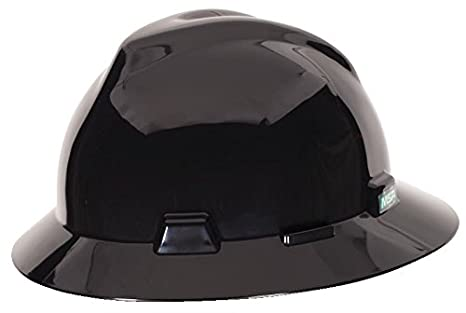 Image Unavailable. Image not available for. Color  MSA C217374 Polyethylene  V-Gard Fas-Trac Suspension Hat ... 9f8bf74c0567