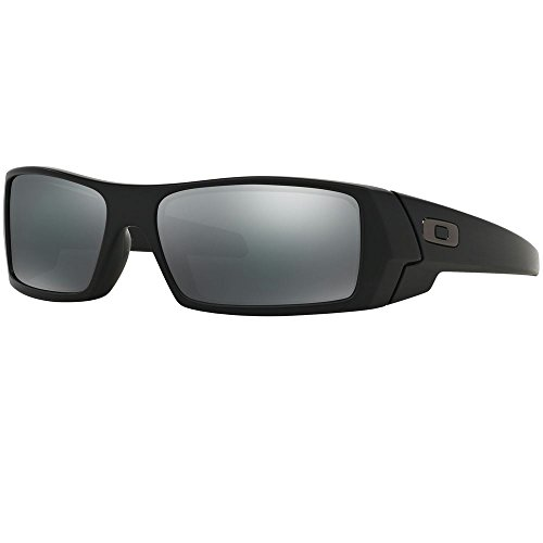 Oakley Men's Gascan 24-435 Black Wrap - Oakley Wrap Sunglasses