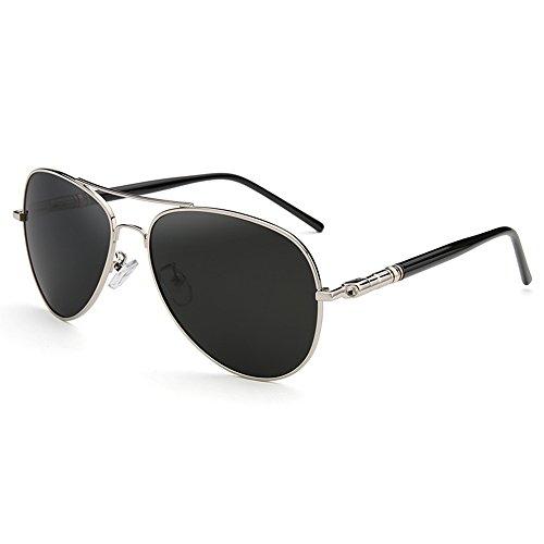 de Gafas A Gafas sol Color hombre de sol deportivas UV400 sol Gafas de para Gafas sol 100 estilo aviador polarizadas de A conducir Gafas SSSX para OSRHXqn