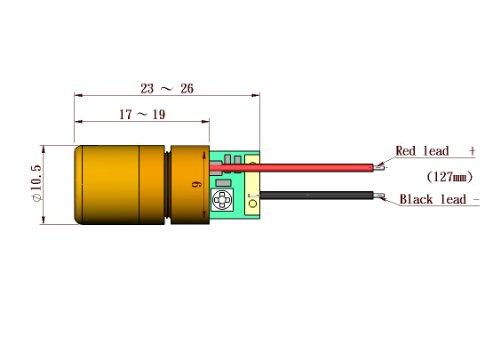 Quarton Laser Module VLM-650-02 LPA (ADJUSTABLE DOT LASER) by Infiniter (Image #1)