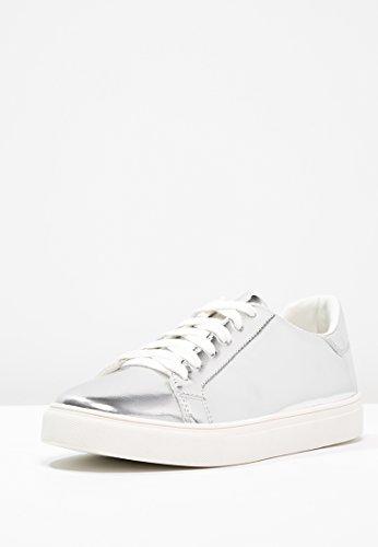 Even&ODD Sneaker de Mujer EN Plateado, Talla 36