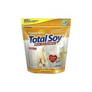 Remplacement Soy-Naturade farine de soja total Nouvelle Formula, 59,58 onces à la vanille