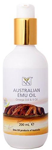 Extra Large Emu Oil 100 Pure Australian Emu Oil – 6.76 Fl.oz