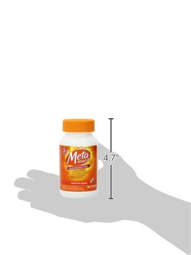 Metamucil Multi Health Fiber Capsules by Meta, 160 Count (Pack of 2)