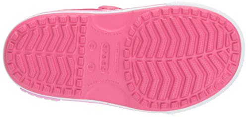 Crocs Kid's Boys and Girls Crocband II Sandal | Pre School, Paradise Pink/Carnation 6 M US Toddler by Crocs (Image #3)