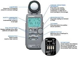 New Sekonic L-358 Flash Master Flash Light Meter L358