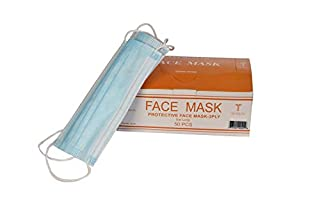hospital blue surgical face mask