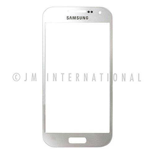 ePartSolution-Samsung Galaxy S4 Mini i9190 i9195 i9192 Front Glass Outer Lens Touch Top Screen Digitizer Lens Cover White Replacement Part USA Seller
