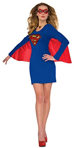 Rubie's Costume 840029-M-L Co Women's Dress, Supergirl, Medium-Large, Medium/Large