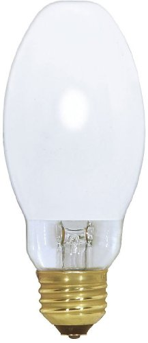 Satco S4475 3900K 75-Watt Coated Medium Base ED17 Mercury Vapor Lamp