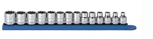 - GEARWRENCH 80560 14 Piece 3/8-Inch Drive 12 Point Standard Metric Socket Set