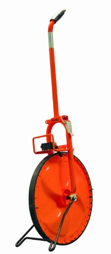 Keson MP415 15-1/2-Inch Diameter 4-Feet Circumference Steel Frame Solid Plastic Measuring Wheel by Keson