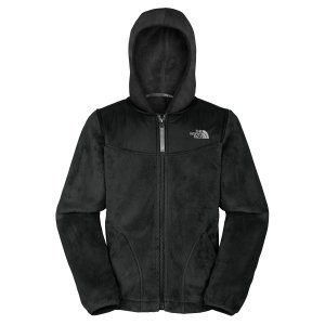 North Face Girls Oso Hoodie TNF Black Size X-Small