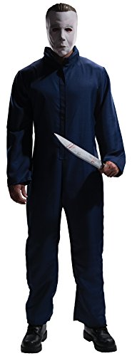 [Rubie's Costume Halloween Movie Complete Michael Myers Adult, Blue, X-Large Costume] (Michael Myers Costumes For Adults)