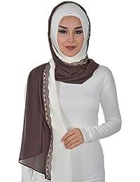 Shawl for Women Hijab Chiffon Muslim Turban Cap Hat Head Wrap Instant Scarf