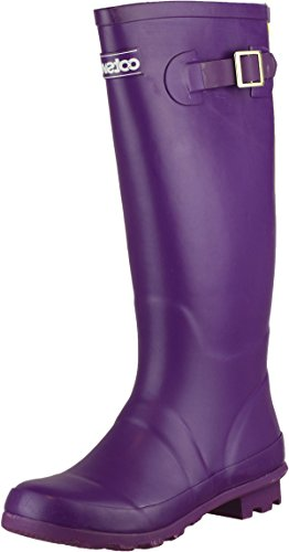 Donna Da Wellingtons Cotswold Purple Lavoro FaWY0aPnT