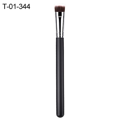 E-House Makeup Brush Set Eyeliner Brush Pen Eyeliner Tool Flat Nylon Hair Wooden Handle Face Foundation Powder Women Cosmetic Makeup Brush - T-01-344