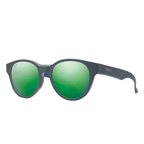 Smith Snare Carbonic Polarized Sunglasses, Matte Smoke Blue