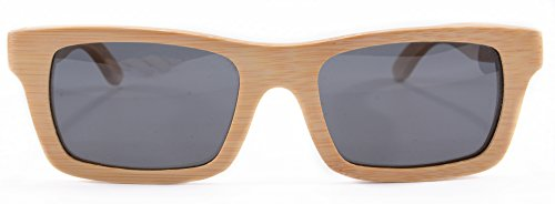 Handmade Bamboo Sunglasses for men Wood Frame Eyeglasses Wooden Sunglasses with Case - Z6033