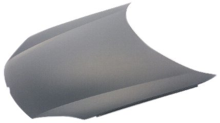 OE Replacement Volkswagen Jetta Hood Panel Assembly (Partslink Number VW1230131)