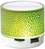 Ecom Delhimart Wireless LED Bluetooth Speakers for All Android & iPhone Smartphones (Assorted Colour)