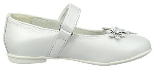 Primigi Mädchen Pfr 7211 Geschlossene Ballerinas Weiß (BIANCO)