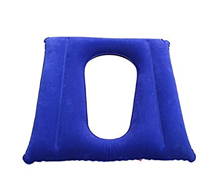 Cojín de aire con orificio para pacientes antiescaras, PVC ...