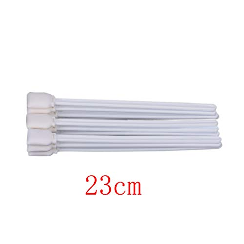 Chansy 50 pcs 9 Inch Long Cotton Foam Head Sticker Cleaning Swabs Sponge Stick for Large Format Printhead