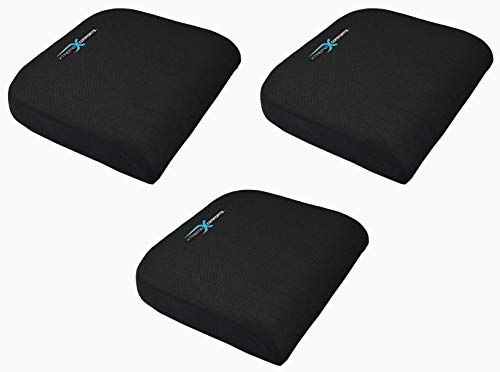 Xtreme Comforts Large Seat Cushion with Carry Handle and Anti Slip Bottom Gives Relief from Back Pain (3 Pack) by Xtreme Comforts (Image #7)